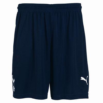 2011-12 Tottenham Home Puma Football Shorts (Navy)