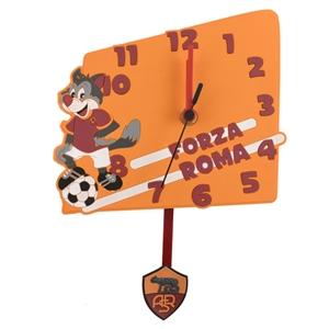 Roma PVC Wall Clock With Pendulum
