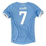 2011-12 Lazio Puma Home Shirt (Sculli 7)