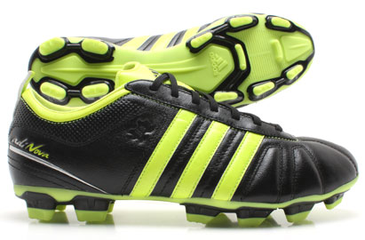 AdiNova IV TRX FG Football Boot Black/Electricity
