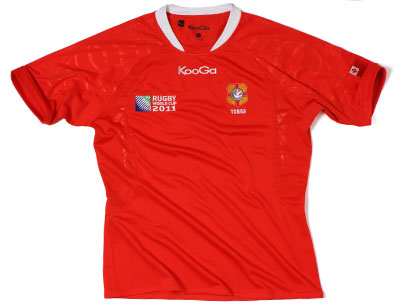 Kooga Tonga Rugby World Cup Shirt 2011