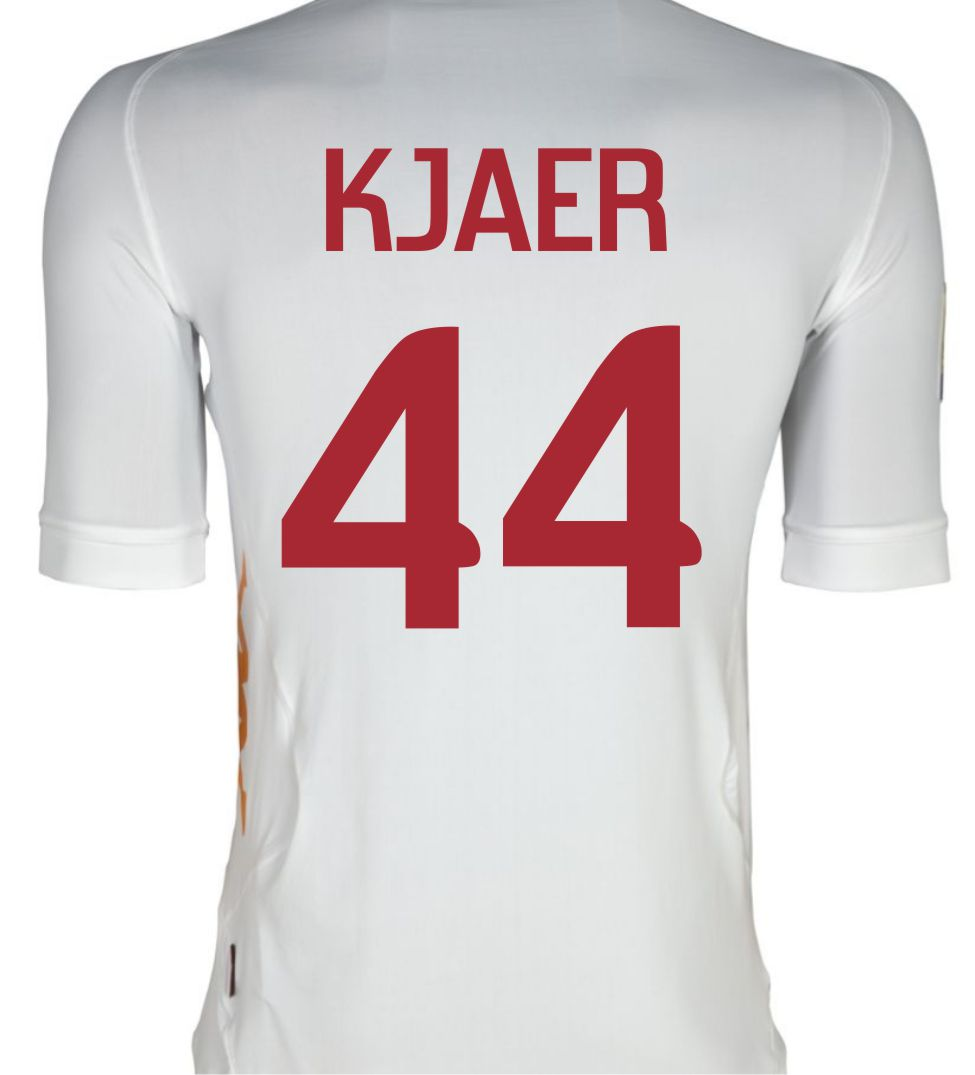 2011-12 Roma Kappa Away Shirt (Kjaer 44)