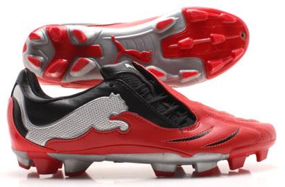 PowerCat 3.10 FG Kids Football Boots Power Red/Black