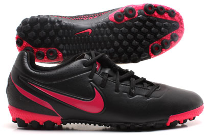 Nike5 Bomba Finale Astro Turf Trainers Black/Pink