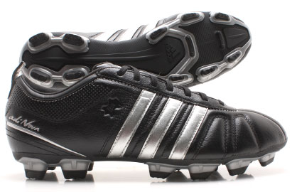 AdiNova IV TRX FG Football Boot Black/Metallic Silver