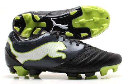 PowerCat 3.12 FG Football Boots Black/Shadow/White