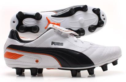 Esito Finale I FG Football Boots White/Navy/Orange