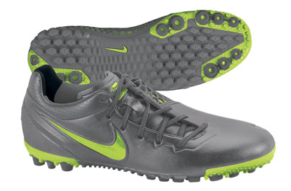 Nike5 Bomba Finale Astro Turf Trainers Metallic Dark Grey