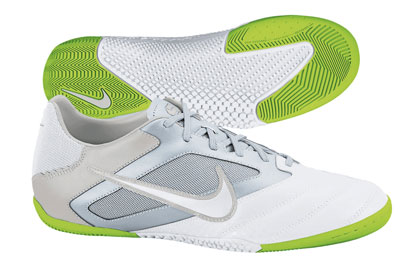 Nike5 Elastico Pro IC Indoor Football Trainers White/Lime/Grey