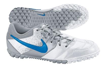 Nike5 Bomba Astro Turf Trainer White/Silver/Blue