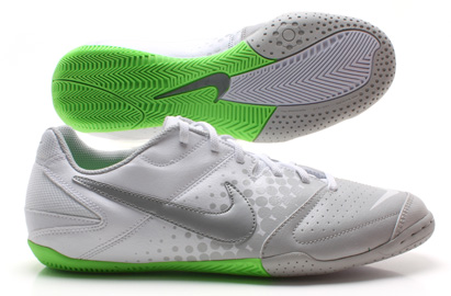 Nike5 Elastico IC Indoor Football Trainers White/Grey/Lime