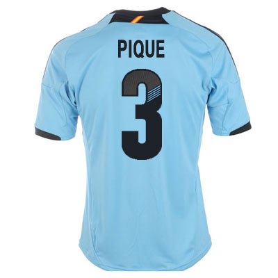2012-13 Spain Euro 2012 Away (Pique 3)
