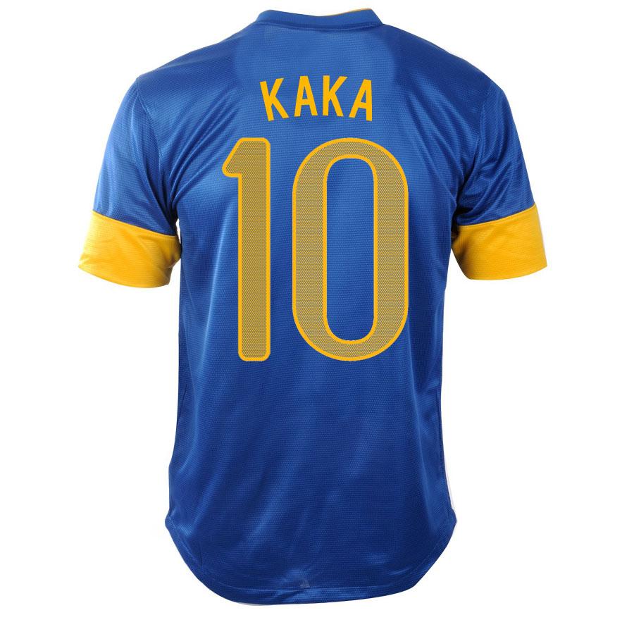 201213 Brazil Nike Away Shirt (Kaka 10)  Kids