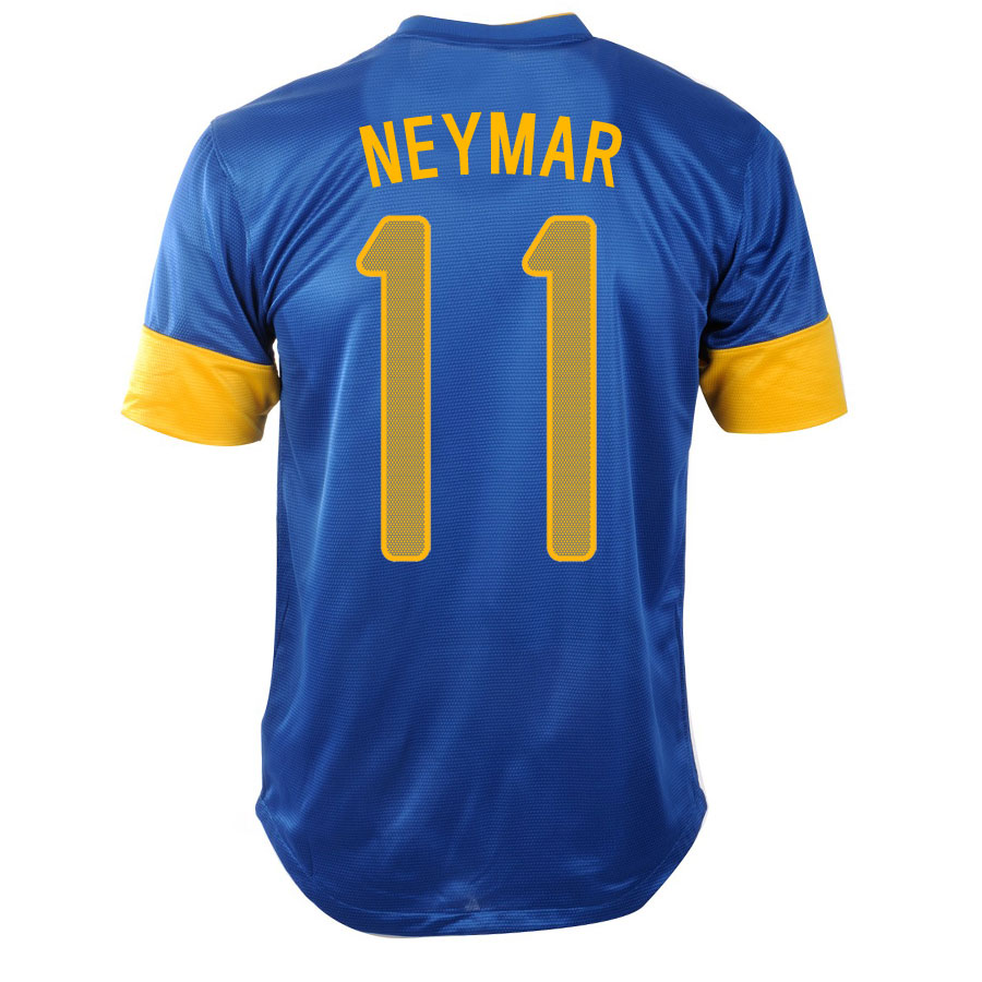 2012-13 Brazil Nike Away Shirt (Neymar 11) - Kids