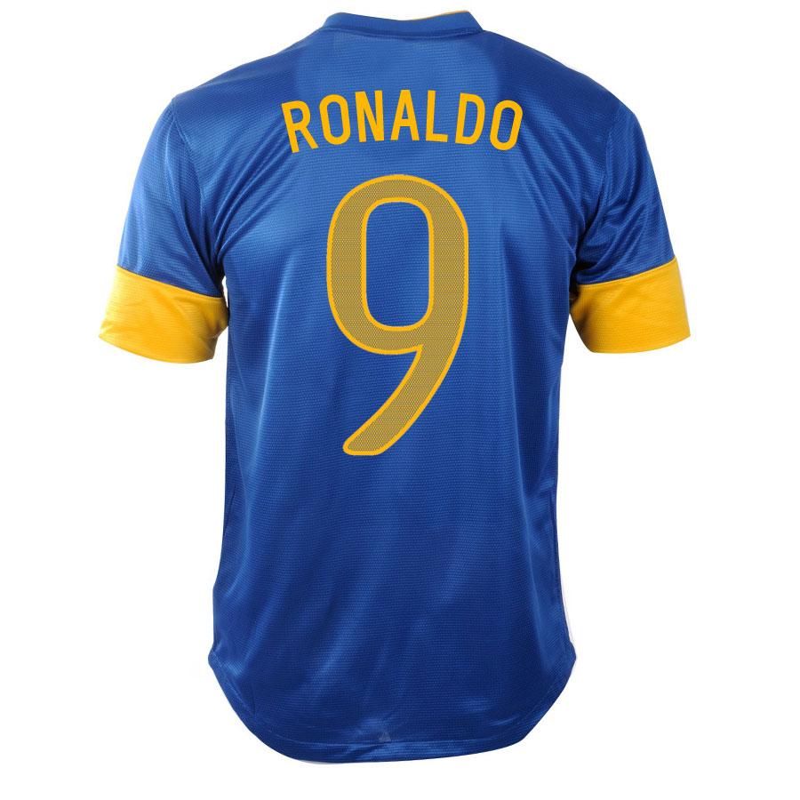 2012-13 Brazil Nike Away Shirt (Ronaldo 9) - Kids