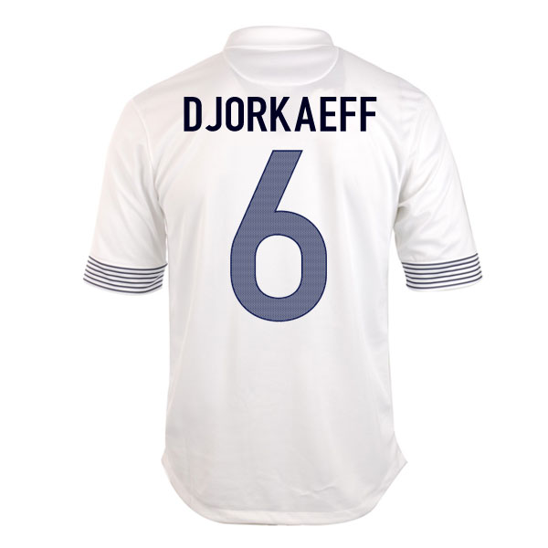2012-13 France Euro 2012 Away (Djorkaeff 6)