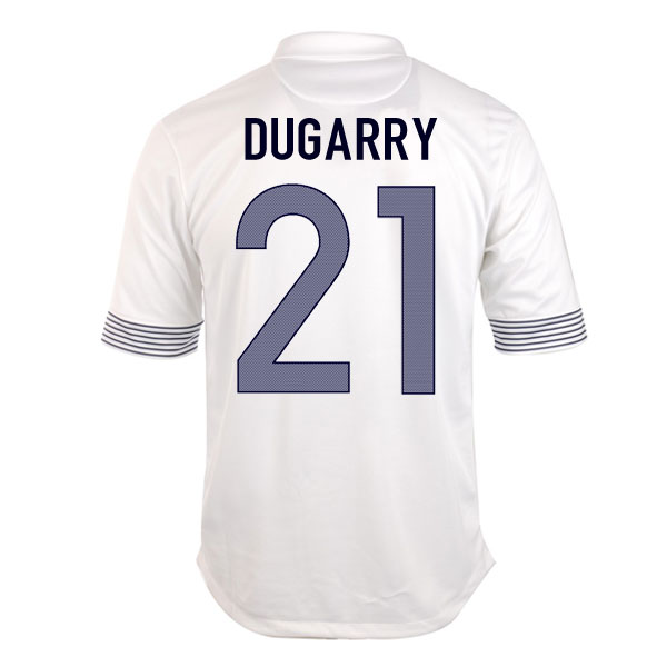 2012-13 France Euro 2012 Away (Dugarry 21)