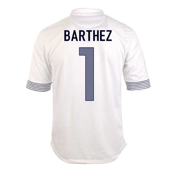 2012-13 France Euro 2012 Away (Barthez 1) - Kids