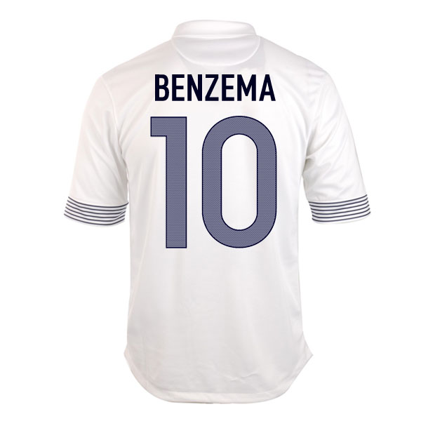 2012-13 France Euro 2012 Away (Benzema 10) - Kids