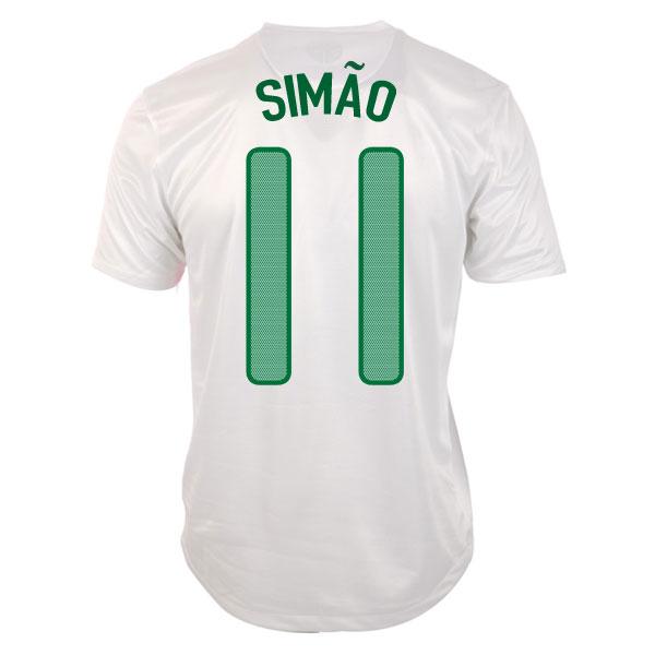 2012-13 Portugal Euro 2012 Away (Simao 11)