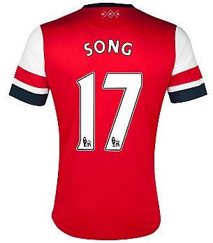 201213 Arsenal Nike Home Shirt (Song 17)  Kids