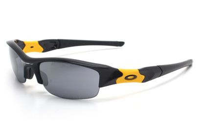 Oakley Livestrong 9008 12-762 Flak Jacket Jet Black Sunglasses