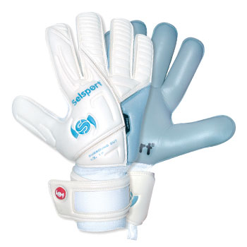 Absorb 1 Goalkeeper Gloves White/Aqua