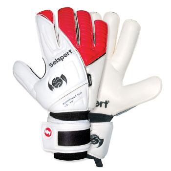 Absorb 3 Goalkeeper Gloves White/Red