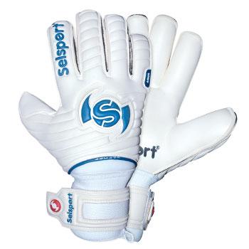 Wrappa Aqua II Goalkeeper Gloves White/Strong Sky