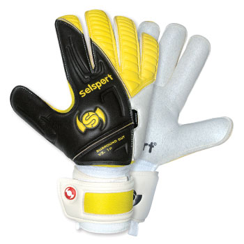 Absorb 2 Goalkeeper Gloves Black/Yellow