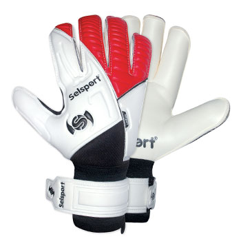 Absorb 5 Replica Goalkeeper Gloves White/Red