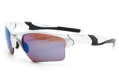 9154 06 Half Jacket 2.0 XL Silver/G30 Polarised Sunglasses