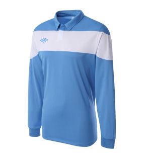 Umbro Pinnacle LS Teamwear Shirt (blue)