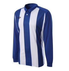 Umbro Clifton LS Teamwear Shirt (bluewhite)