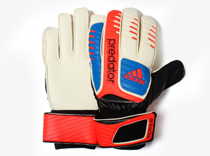 Predator Replique Soft Grip Goalkeeper Gloves Running White/Bright Blue/Infra Red