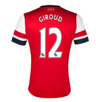 201213 Arsenal Nike Home Shirt (Giroud 12)  Kids