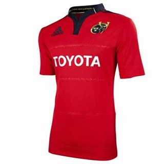 201112 Munster Adidas Home Rugby Shirt