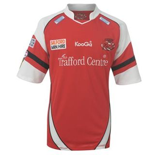 201213 Salford City Kooga Home Rugby Shirt