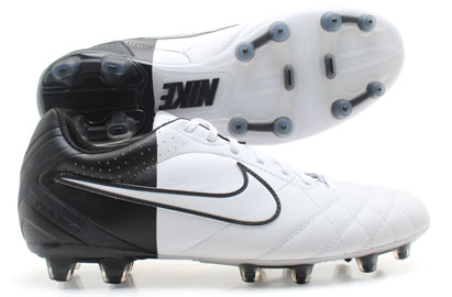 Tiempo Flight FG Euro 2012 Football Boots White/Black