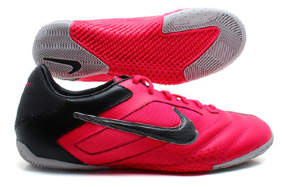 Nike5 Elastico Pro Indoor Football Trainers Cherry/Metalic Dark Grey/Black