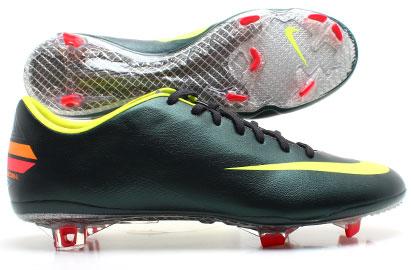 Mercurial Vapor VIII FG Football Boots Seaweed/Volt