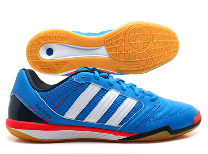 Freefootball Top Sala Football Trainers Bright Blue/White/Infra Red