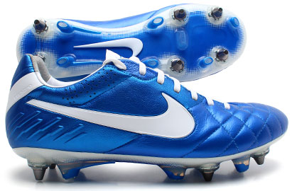 Tiempo Legend IV SG Pro Football Boots Soar Blue/White
