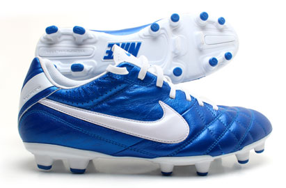 Tiempo Natural IV LTR FG Football Boots Soar Blue/White