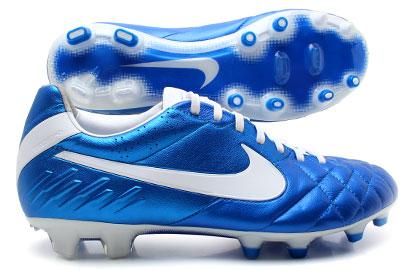 Tiempo Legend IV FG Football Boots Soar Blue /White