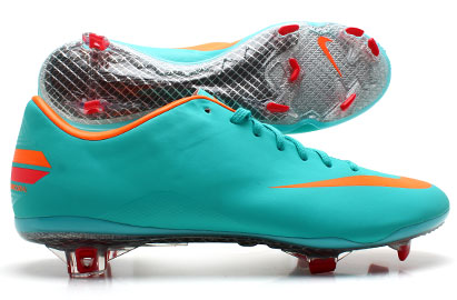 Mercurial Vapor VIII FG Football Boots Retro/Total Orange/Chilling Red