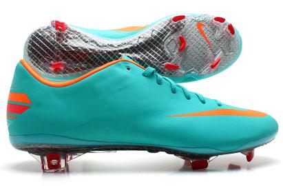 Mercurial Vapor VIII FG Football Boots Retro/Total Orange/Chilling Red