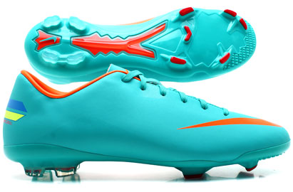 Mercurial Glide III FG Kids Football Boots Retro/Total Orange