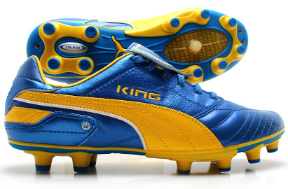 King Finale i FG Football Boots Blue/Dandelion/White