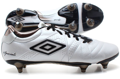 Umbro Speciali 3 Pro A SG Football Boots White/Black/Pewter